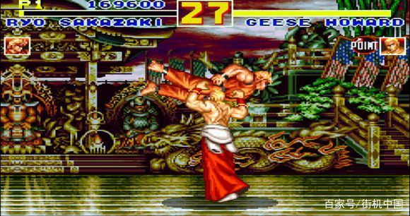 如果把饿狼传说特别版2里面的吉斯移植到街霸2里面跟隆、肯对战会怎样?