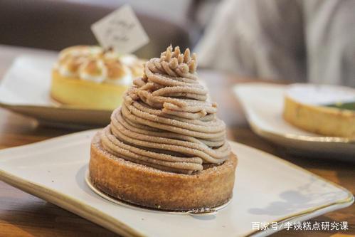 《李姨糕点研究课》:栗子蒙布朗,栗子泥无糖和有糖都各备一些