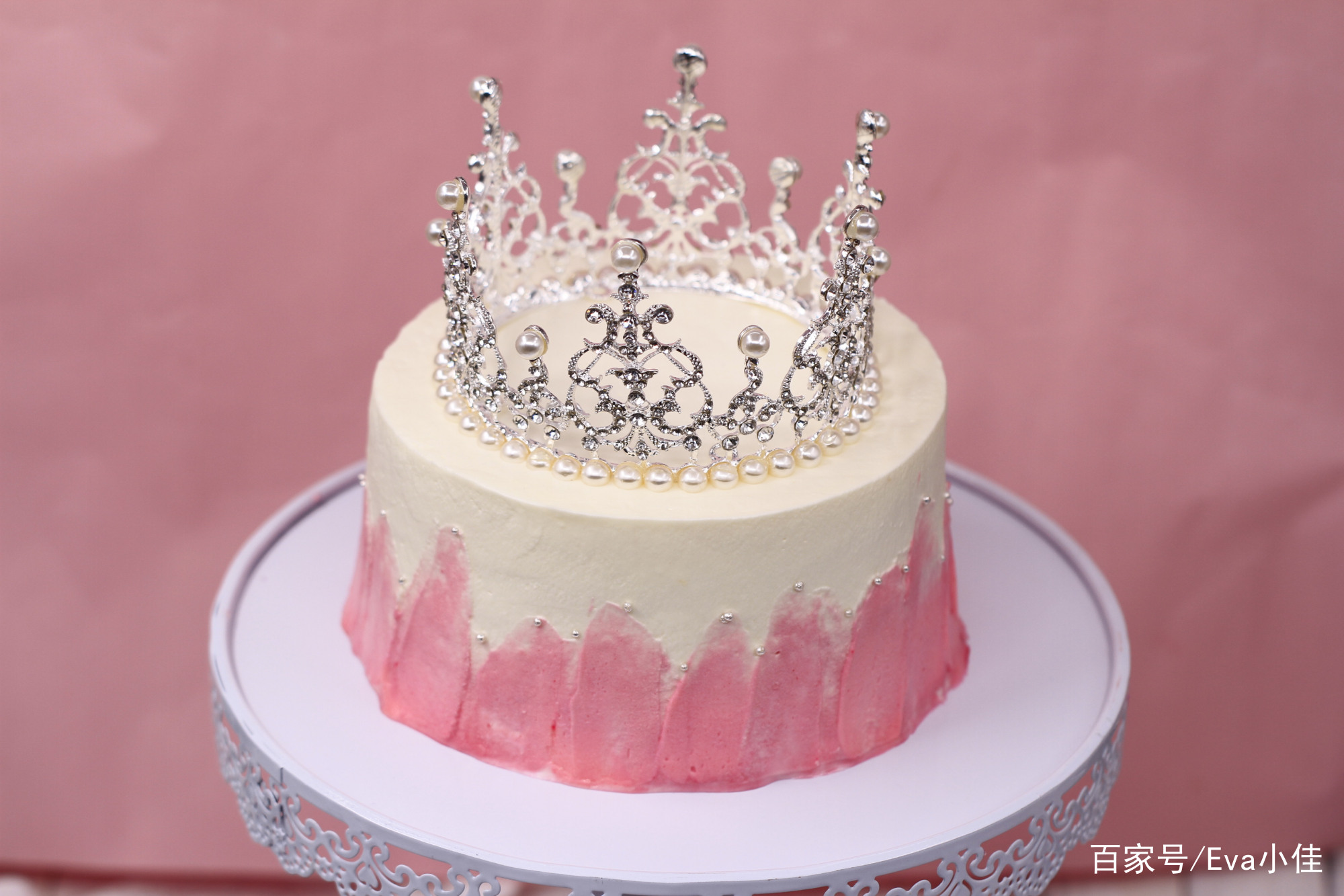 女王皇冠蛋糕,做自己的女王!