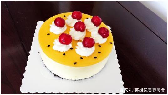 这种果与其它水果搭配做蛋糕,简直太美味