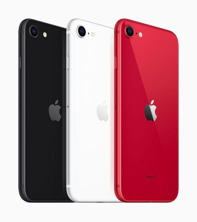 2020年的iPhoneSE只有4.7英寸比第一代iPhoneSE大了大约20%