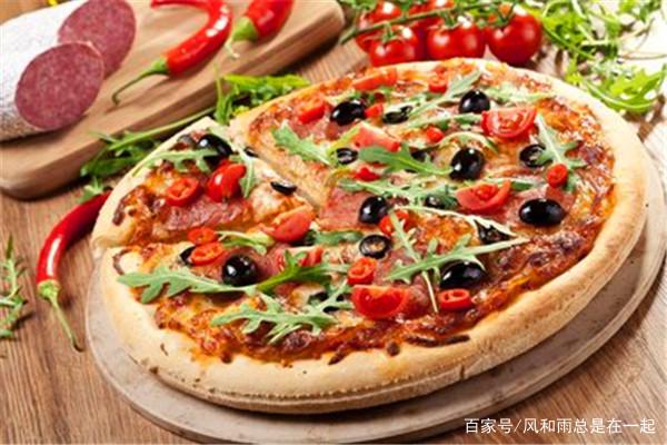 一道微波炉披萨,简单方便,实惠美味