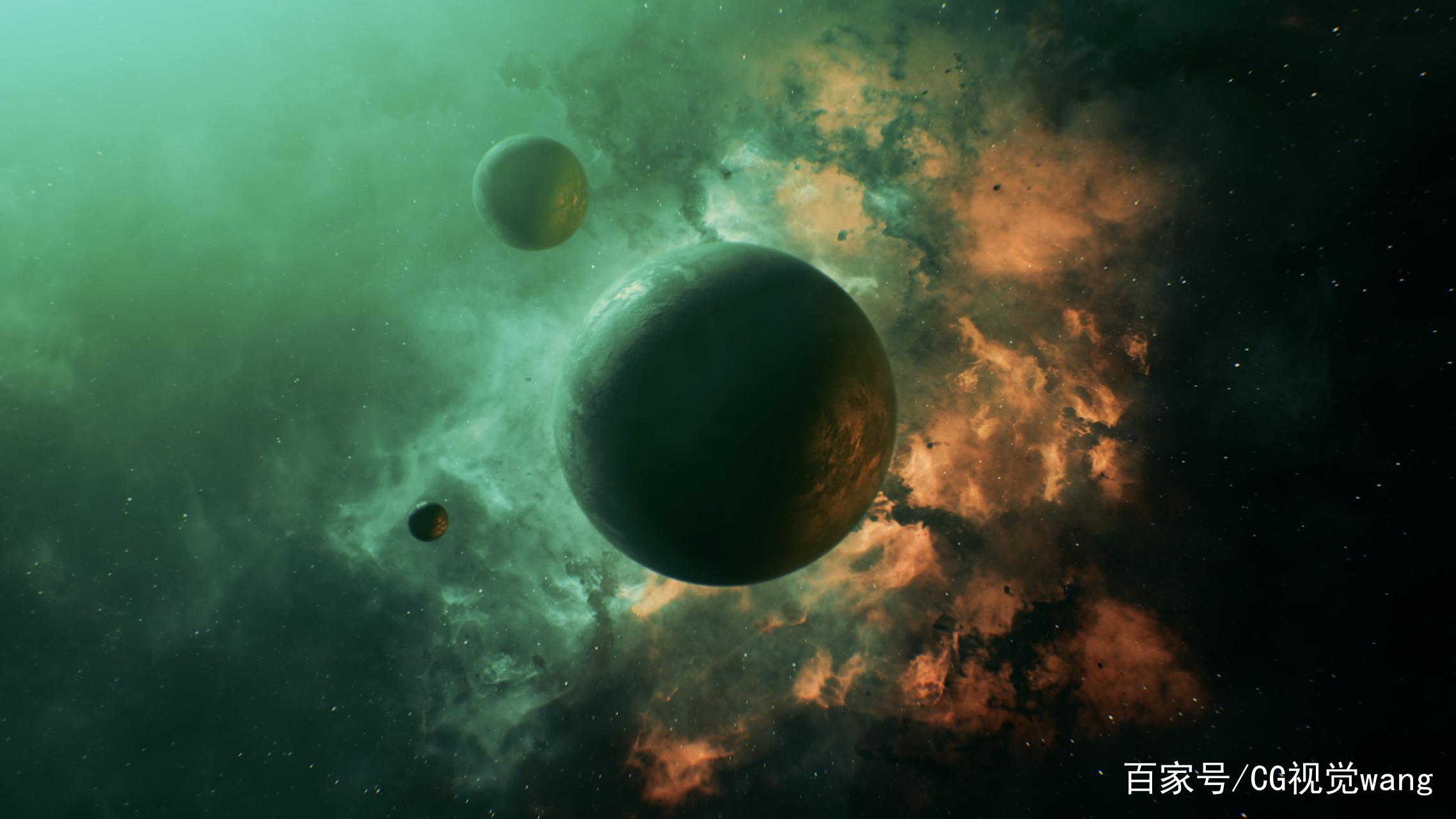 Nebula-Planet