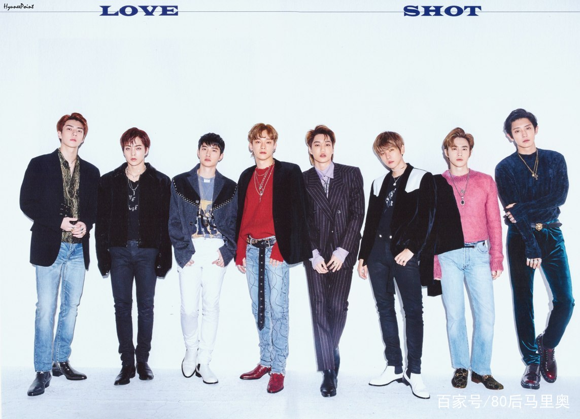 这就是SM天团EXO!《Tempo》和《Love Shot》同时成为一位候补!