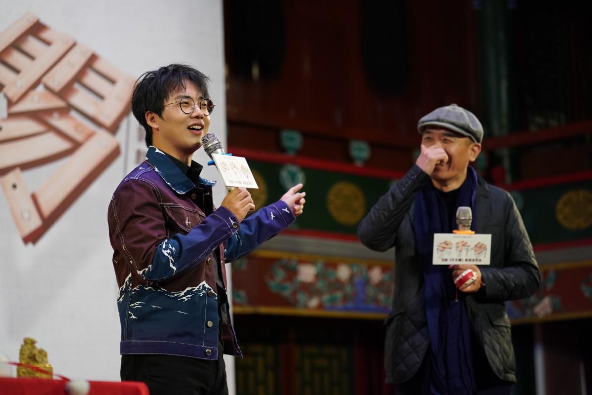 """""""二师兄""""马德华和郭麒麟,把自己的第一次话剧献给了老舍作品"""