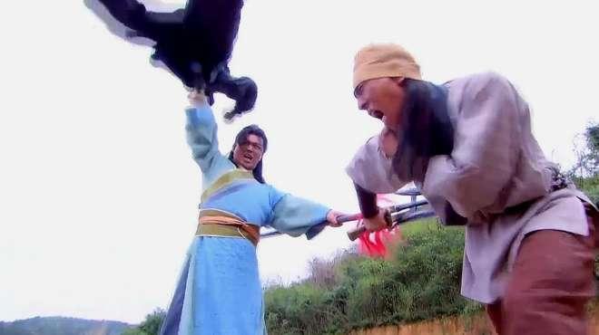 隋唐英雄3:土匪劫持良家妇女,没想她是薛仁贵之妻,要倒霉了