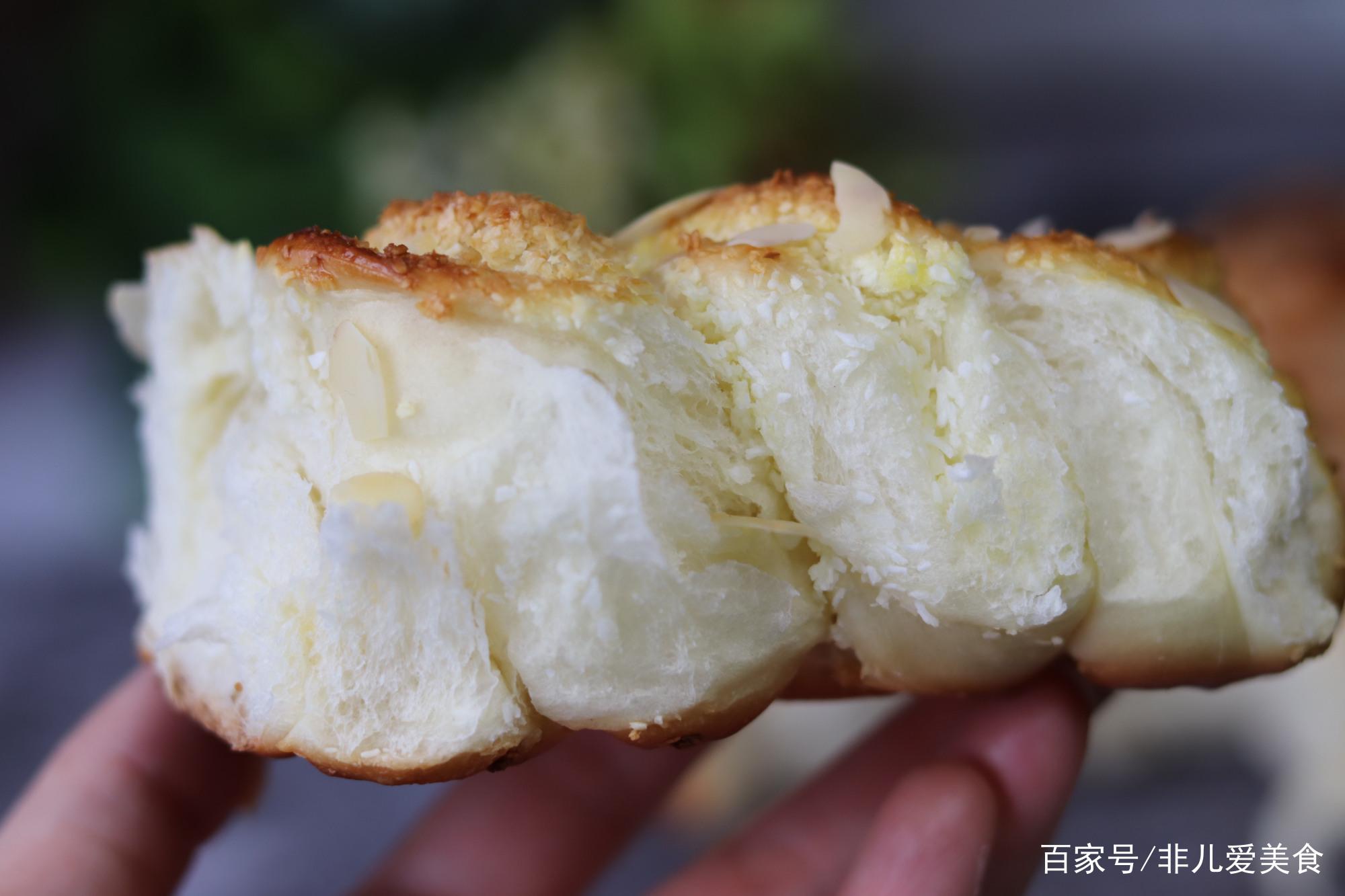 无黄油低热量低糖又好吃的椰蓉包