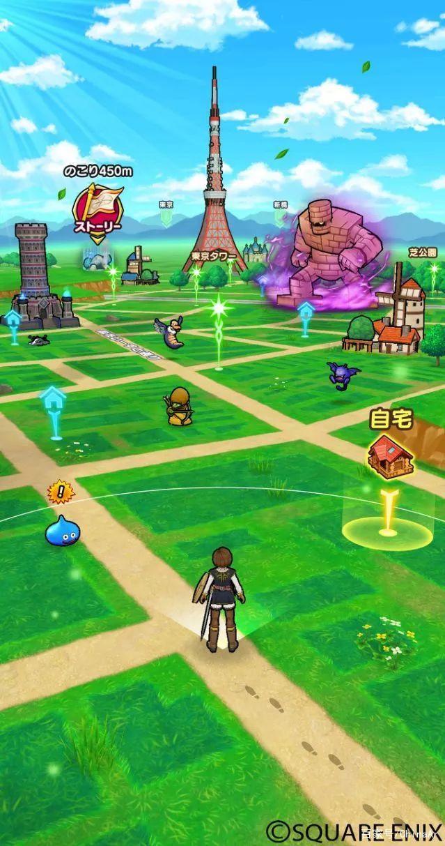 Square Enix将推出AR手游版《勇者斗恶龙》 AR游戏 第3张