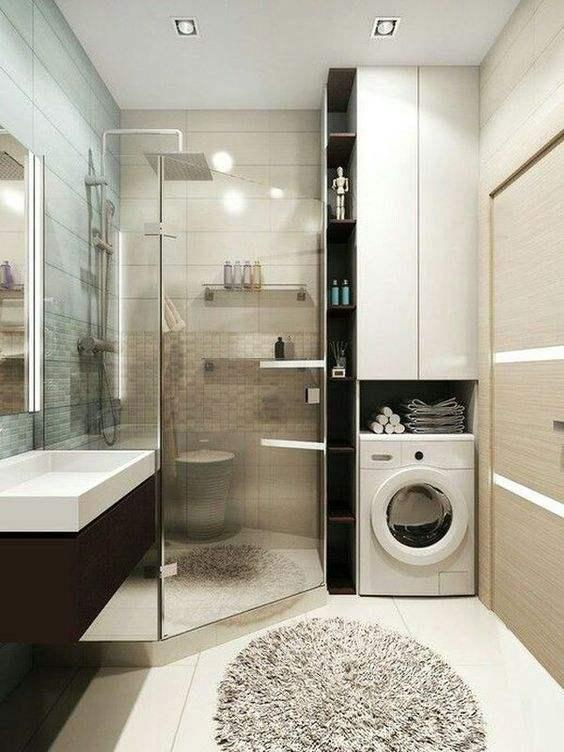 小卫生间装修效果图,卫生间面积小如何装修
