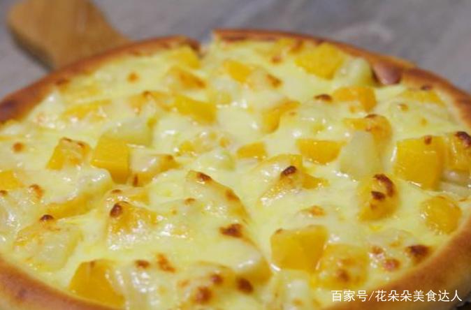 家常水果披萨这样做,简单易学超好吃,爱吃披萨的一定要收藏了