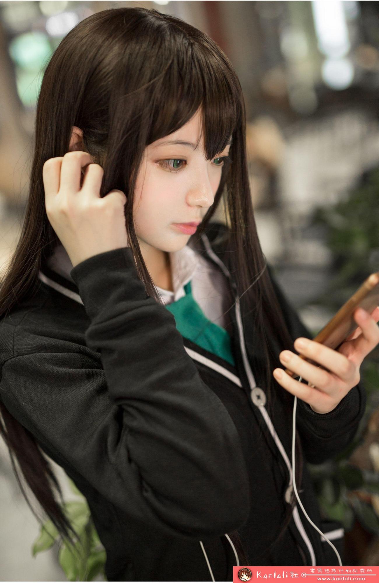 【疯猫ss】疯猫ss写真-FM-001 碧眼校服 [19P]