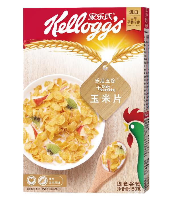 美味营养巧搭配,家乐氏玉米片助攻孩子胃口大开