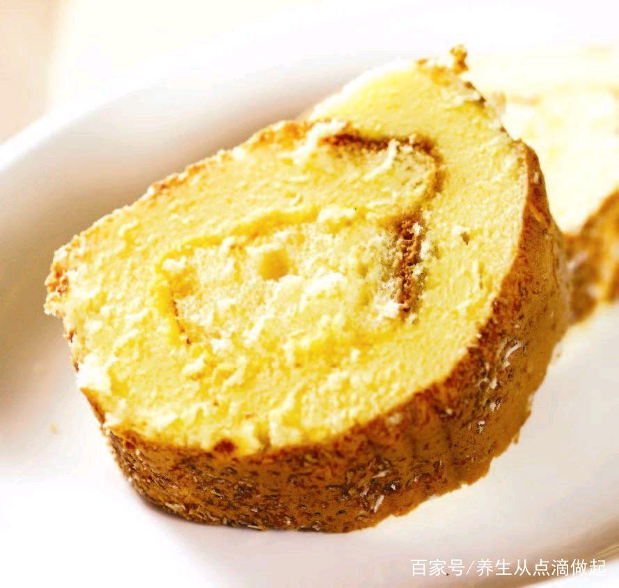奶油果酱卷小蛋糕