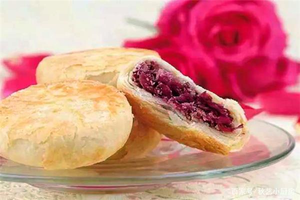 教你制作玫瑰鲜花饼的方法,使用玫瑰花是关键,和面也不可忽视