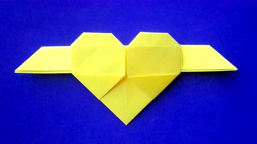 摺紙教程:教你如何折天使之心,大人小孩都喜歡的手工教程