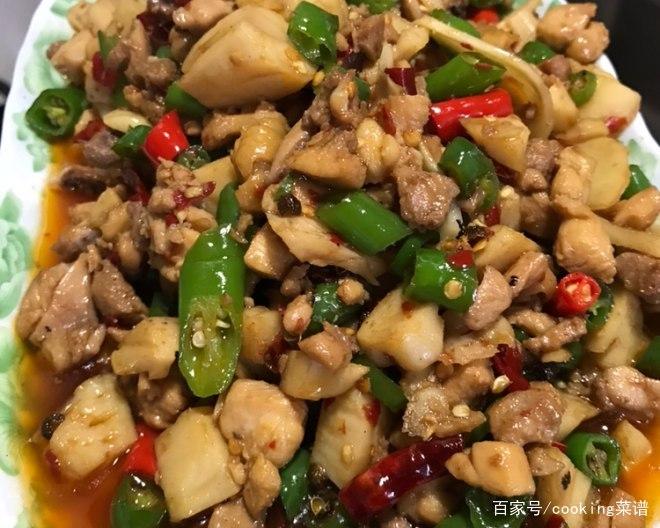 家常鸡肉菜谱,尖椒鸡,做法简单,营养美味,超下饭,动手试试吧