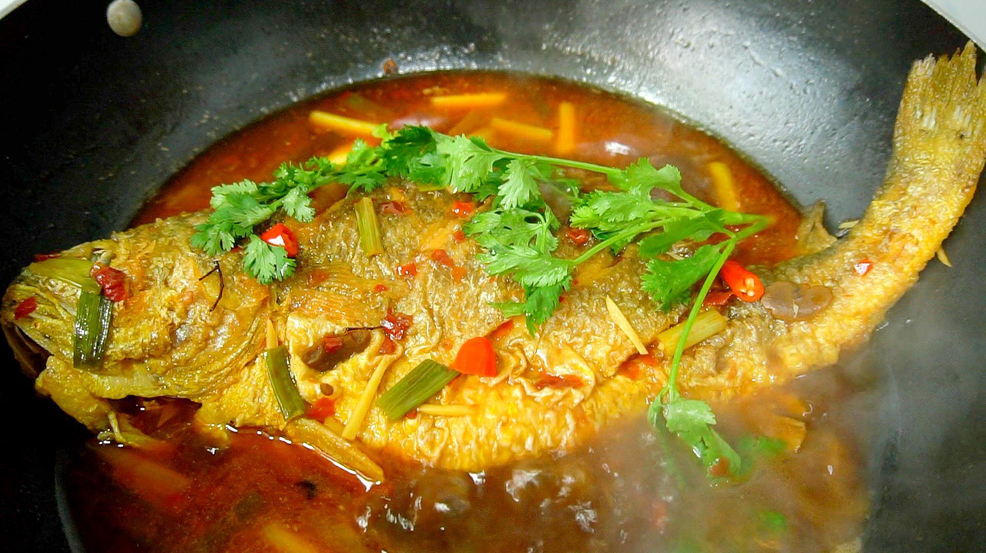 红烧黄花鱼的家常做法