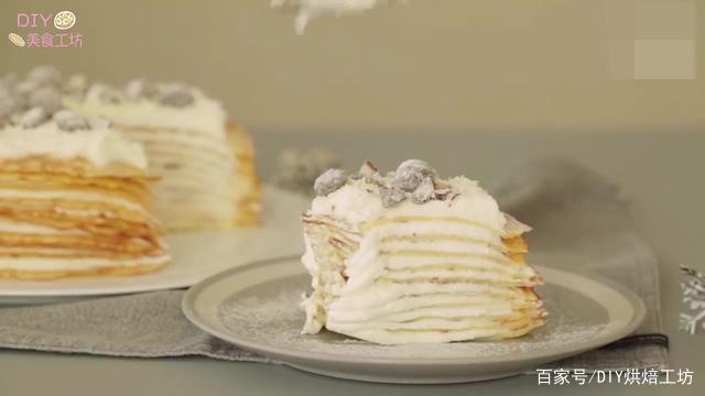 「烘焙教程」千层蛋糕制作小窍门—白巧克力蛋糕