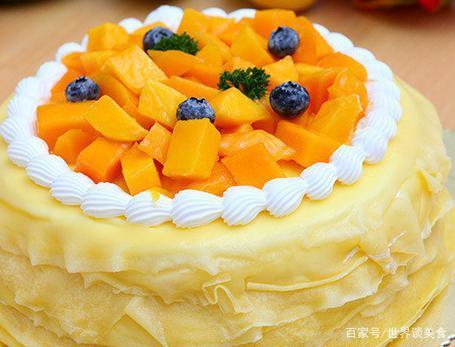 千层蛋糕,天使般的味道,是年华的烘焙,也是绵软的香甜的回忆。