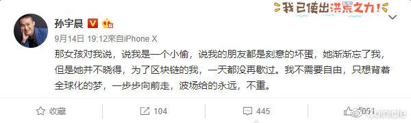 """波场2年,孙宇晨的""""骗子外衣""""褪下没?"""