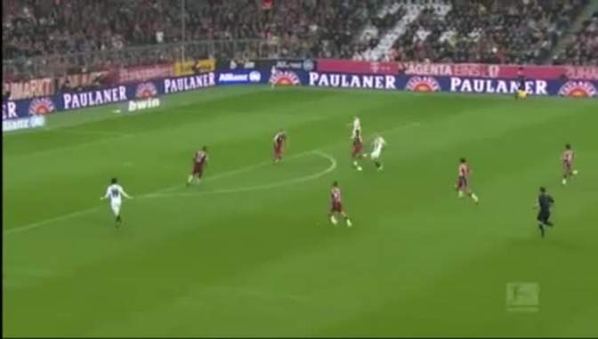 德甲-1415赛季-联赛-第26轮-拜仁慕尼黑0:2门兴格拉德巴赫-精华