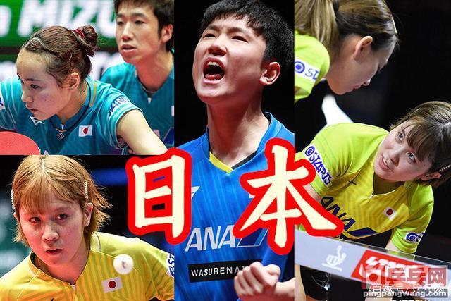 女子 代表 卓球