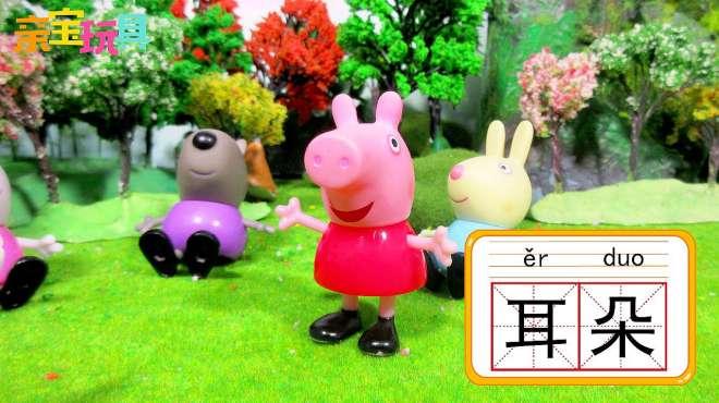 亲宝玩具学汉字:耳朵的拼音怎么写 小朋友们耳朵的作用你知道吗
