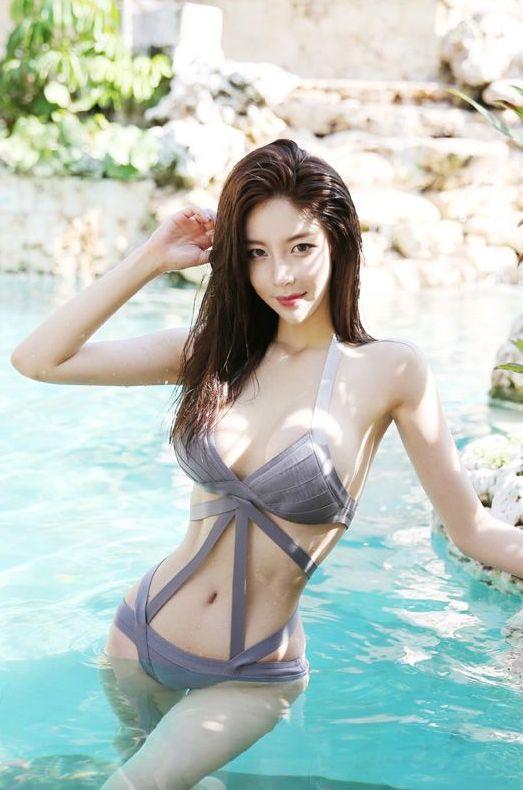 韩国八大泳装模特比基尼美图乐多美图网整理第22期