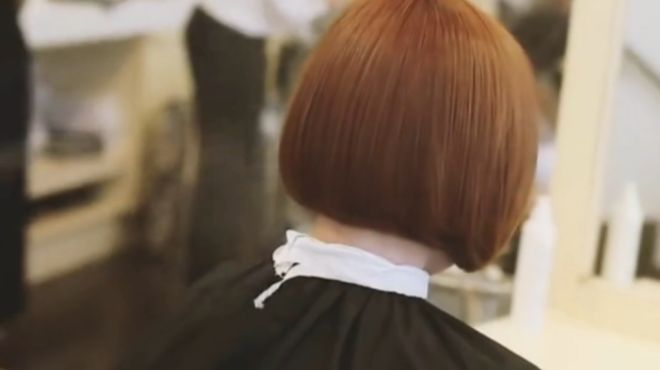 精致短发剪裁技术,妹子剪这样的发型简直完美,十分有气质
