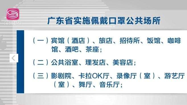 广东发布严格防疫通告!公共场合不戴口罩或将被罚