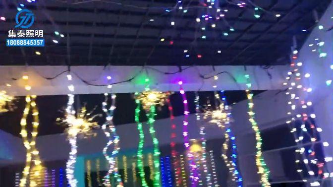 景观亮化工程水母灯
