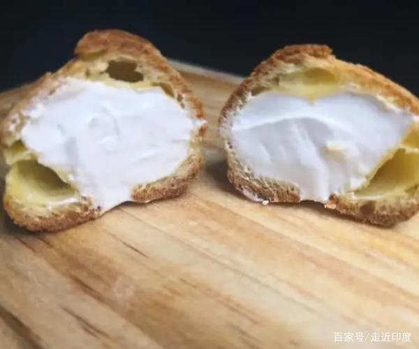 奶油泡芙最简单的做法,一口一个,香甜可口,孩子喜欢得不得了