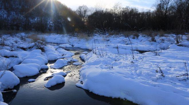 呼伦贝尔有条不冻河,零下四十度竟流水潺潺