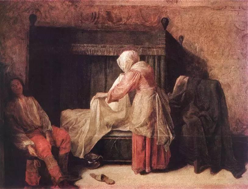 荷兰风俗画派画家彼得·德·霍赫经典油画作品欣赏