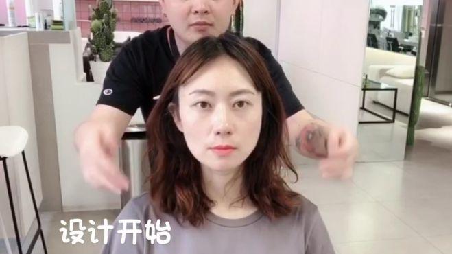 想要发型好看又显年轻,发型师说剪这款百搭发型错不了