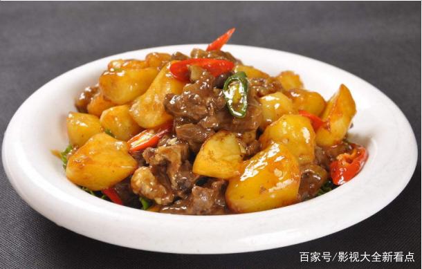土豆炖牛肉的家常做法,红酒配牛肉,味道真不错
