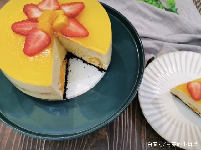 下午茶教你做芒果慕斯蛋糕