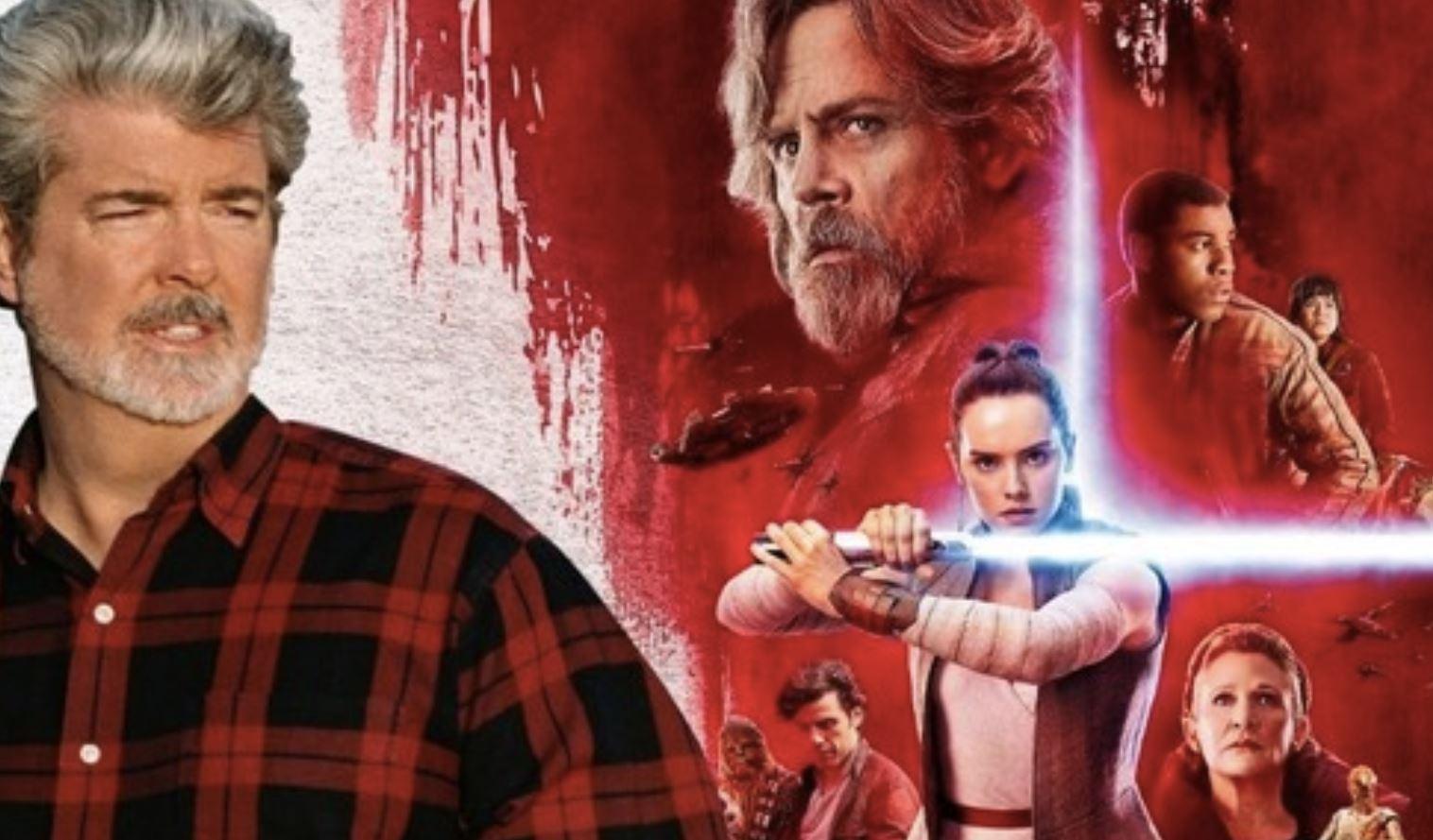 鲍勃伊格尔说乔治卢卡斯觉得新的《星球大战》电影背叛了他