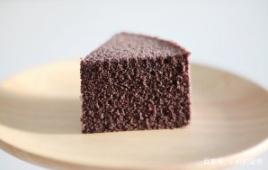 好吃又简单的黑米蒸蛋糕,隔壁小孩馋哭了!