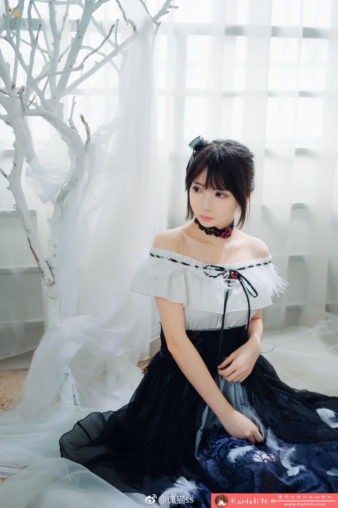 【疯猫ss】疯猫ss写真-FM-004 仙气的可爱露肩裙 [8P]