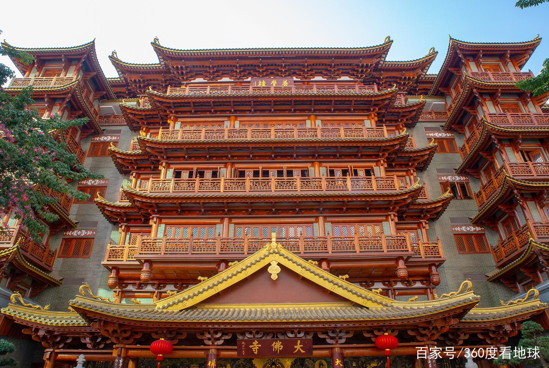 """广州香火最盛的寺庙,夜景堪比洪崖洞,被誉为""""最美禅寺"""""""
