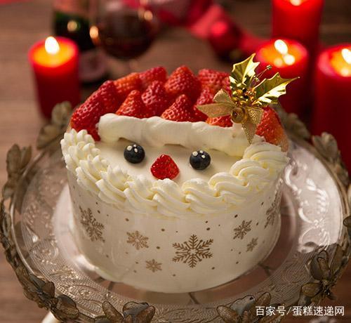 圣诞节蛋糕_圣诞节主题创意蛋糕_平安夜不选苹果吃蛋糕?