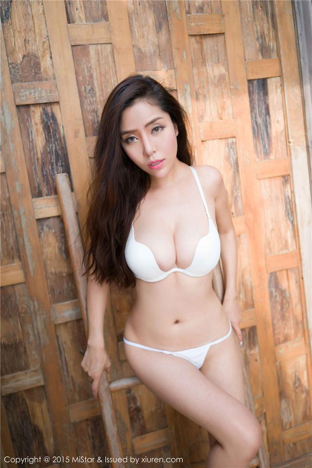 [魅妍社]丁字裤美女陈欣内衣爆乳惹火图片VOL.035