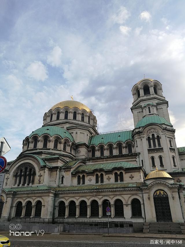 保加利亚,亚历山大·涅夫斯基大教堂,外景