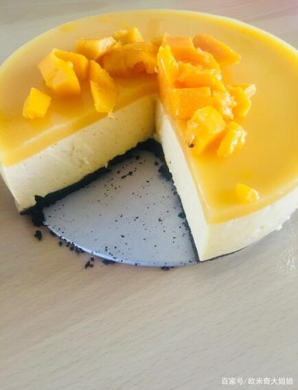 家庭版芒果——慕斯蛋糕