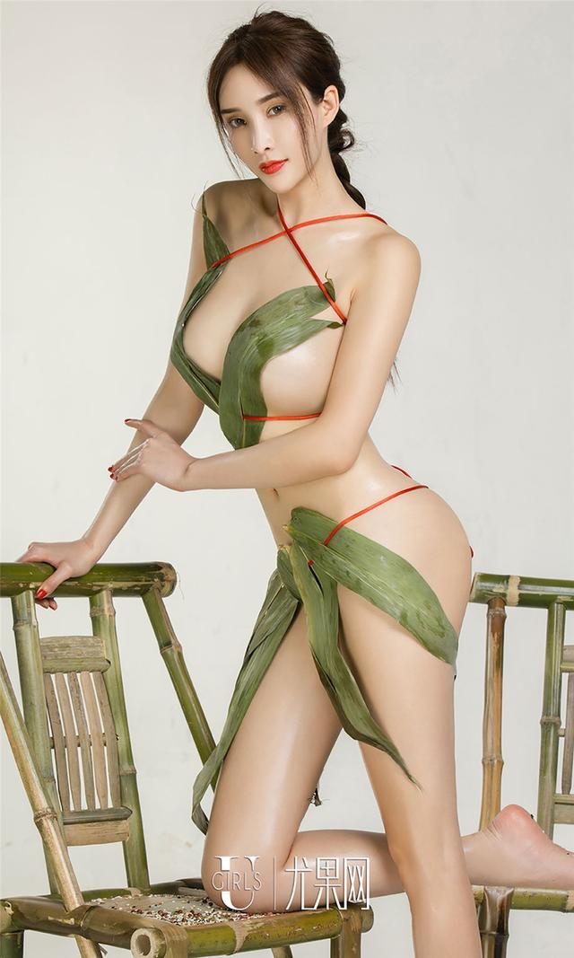 [尤果网] 古典性感美女周妍希火辣身材摄影图片 第723期