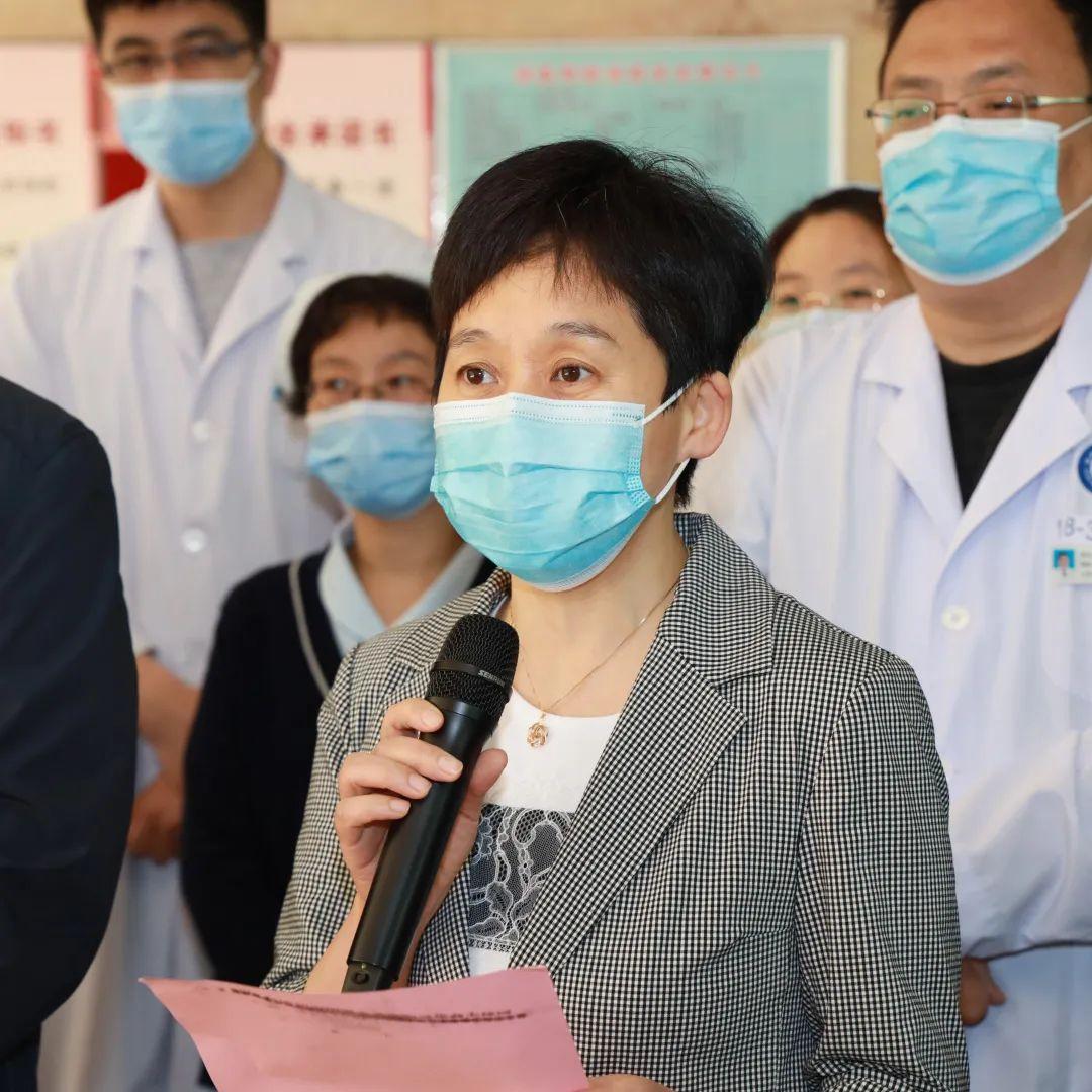 滨医附院境外归国人员接转工作组 6 名队员解除医学观察