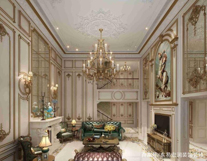 法式风格壁画有什么特点,法式风格壁画类型!