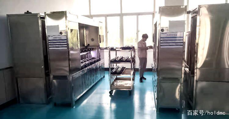 全自动水表检测装置使用中照片