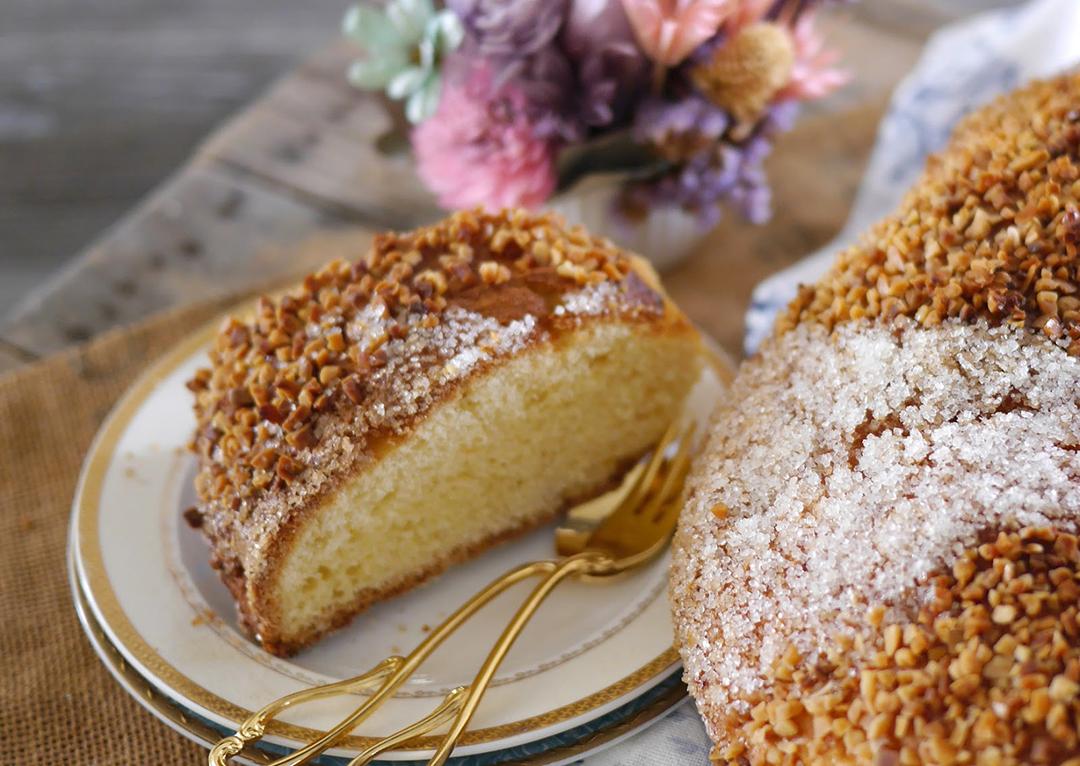 """自己动手做美食-家庭版""""国王蛋糕"""",做法超简单,健康更美味!"""